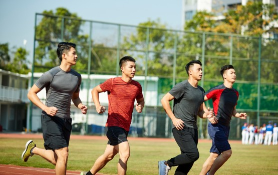 Runners in China